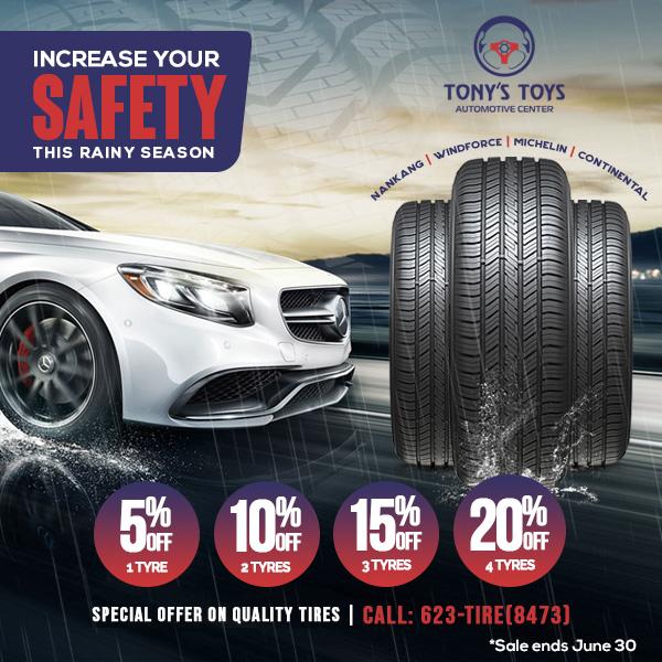 Tire Promo June 2021
